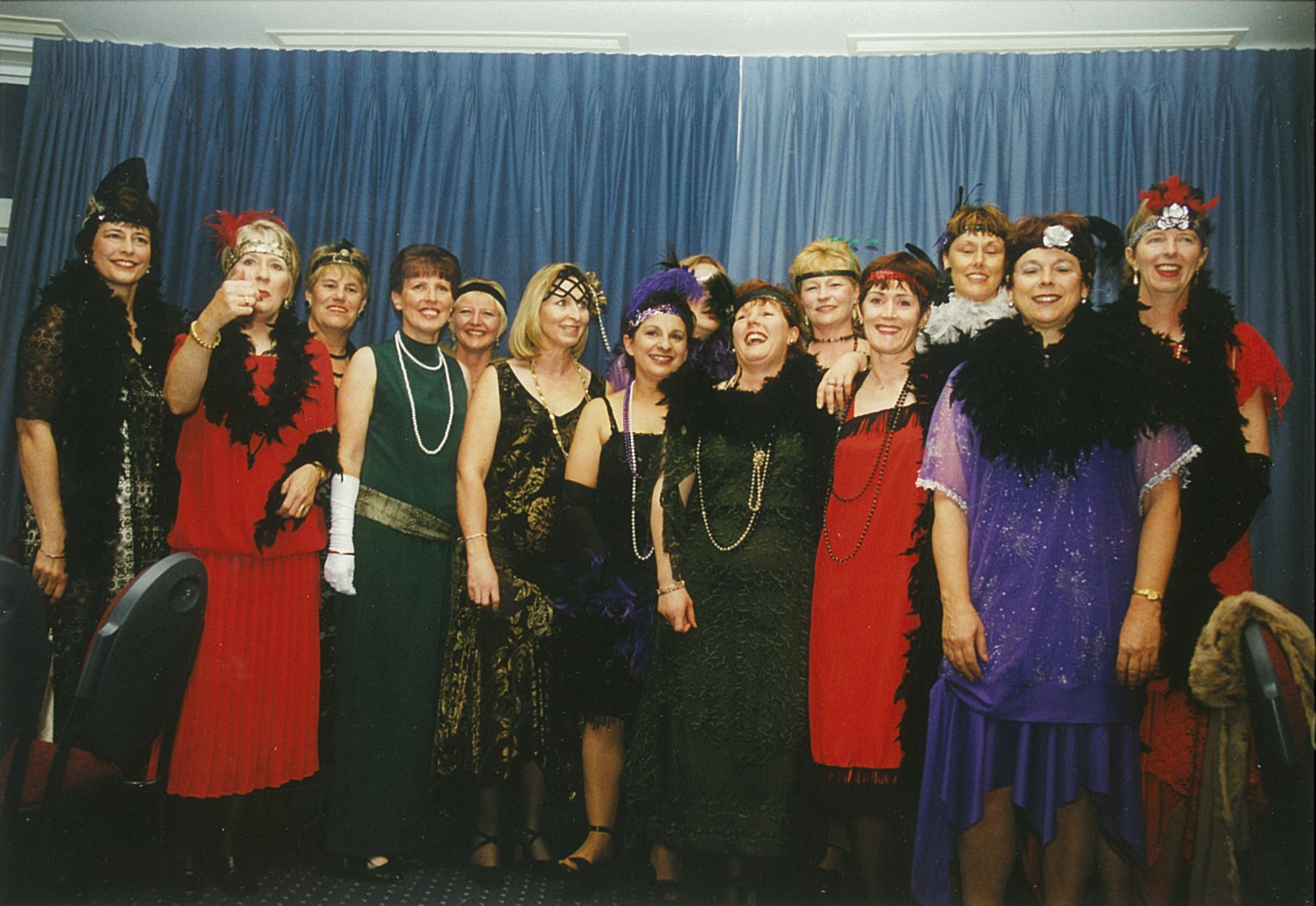 People at the 2000 Conference in Napier